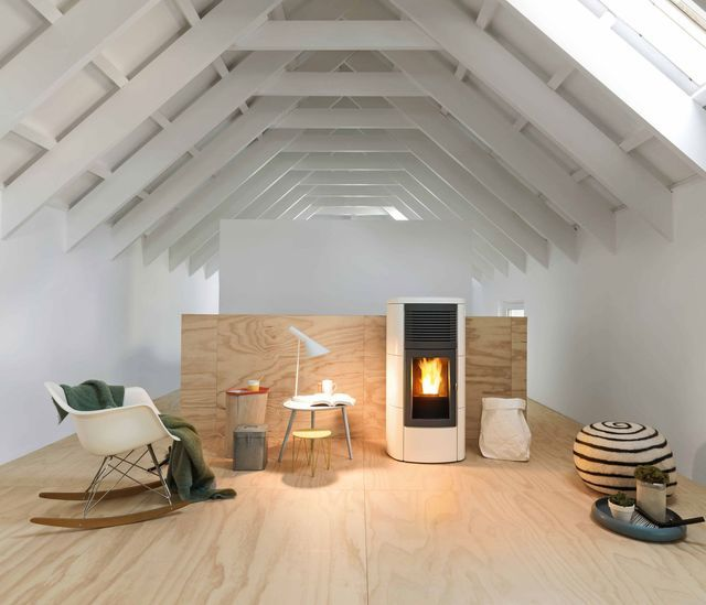 12 best poêle images on Pinterest Home ideas, Fire places and Stoves - cout chauffage electrique maison