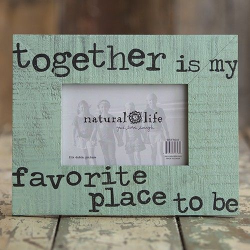 Together is my favorite place to be Boardwalk Frame
