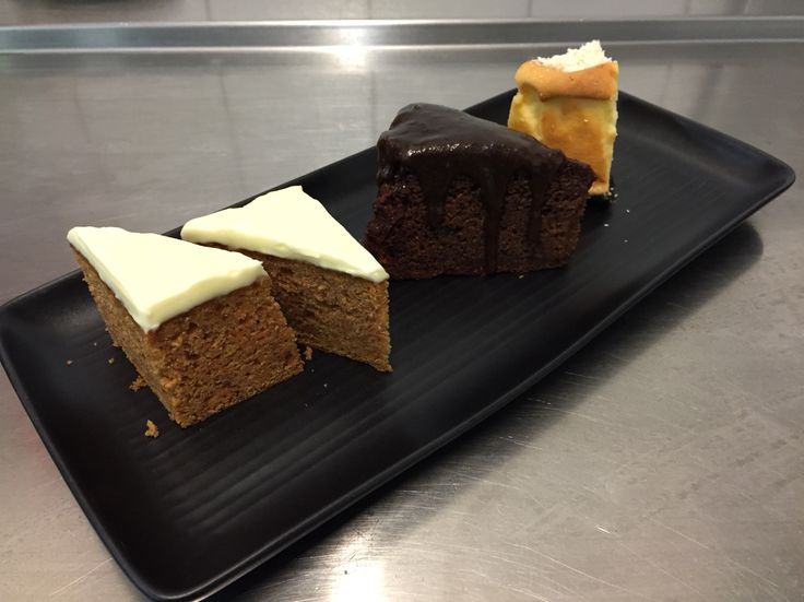 Carrot cake | Sticky date | Cheesecake