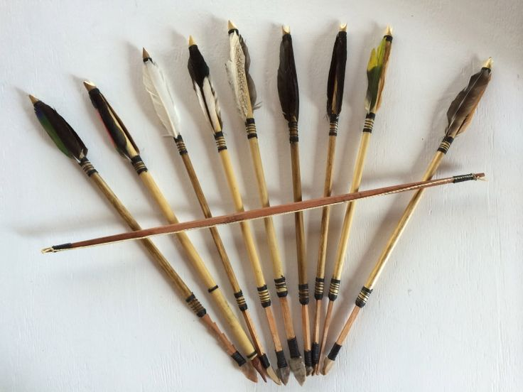 Las Ninas Textiles, Hand made Bow & Arrows