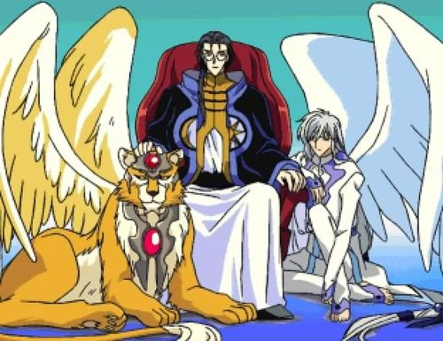 CardCaptor Sakura ~~ Clow Reed and his two familiars ...
