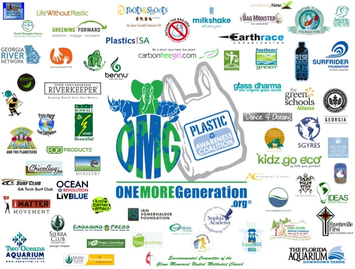 OMG founders created their Plastic Awareness Coalition which now boasts over 70 local, national, and even international partners who are all trying to educate communities about Plastic Pollution and show everyone how they too can 'be the solution to the issue of plastic pollution'.
