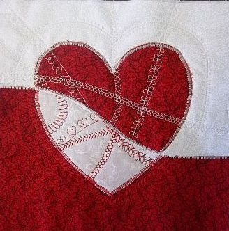 40 best valentine quilt blocks images on Pinterest | Cards, Crown ... : free heart quilt patterns - Adamdwight.com