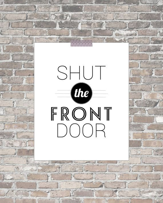 73 best decor ideas images on pinterest for 1 2 shut the door