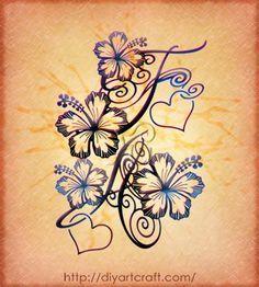 hibiscus + hearts