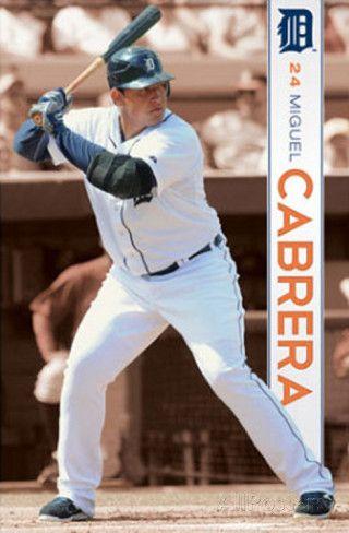 Detroit Tigers - Miguel Cabrera Poster at AllPosters.com