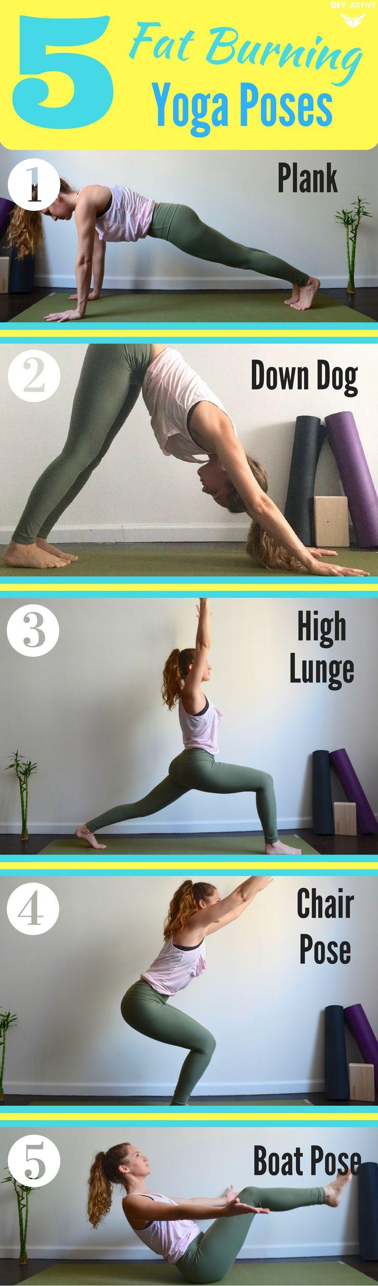5 Fat Burning Yoga Poses You Have to Try via @DIYActiveHQ