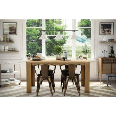 best 25 metal dining chairs ideas on pinterest farmhouse chairs dining room lighting and dining table with chairs - Metal Dining Room Tables