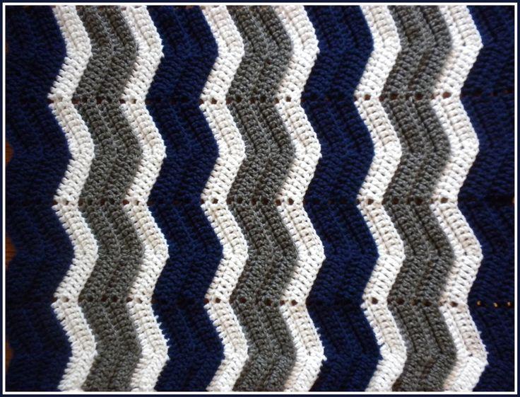 Handmade Crochet Navy Blue, Grey and White Dallas Cowboys Baby Blanket by BlanketsByJulee on Etsy https://www.etsy.com/listing/124105034/handmade-crochet-navy-blue-grey-and