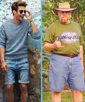 how to look good old fat man