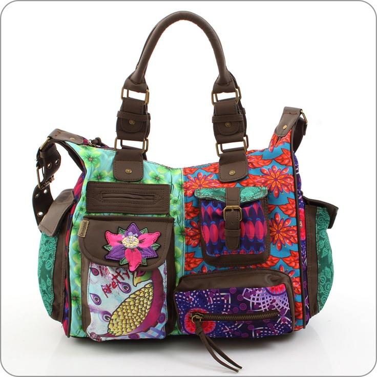 desigual tasche london peacock violeta bags i love pinterest cgi and bag. Black Bedroom Furniture Sets. Home Design Ideas