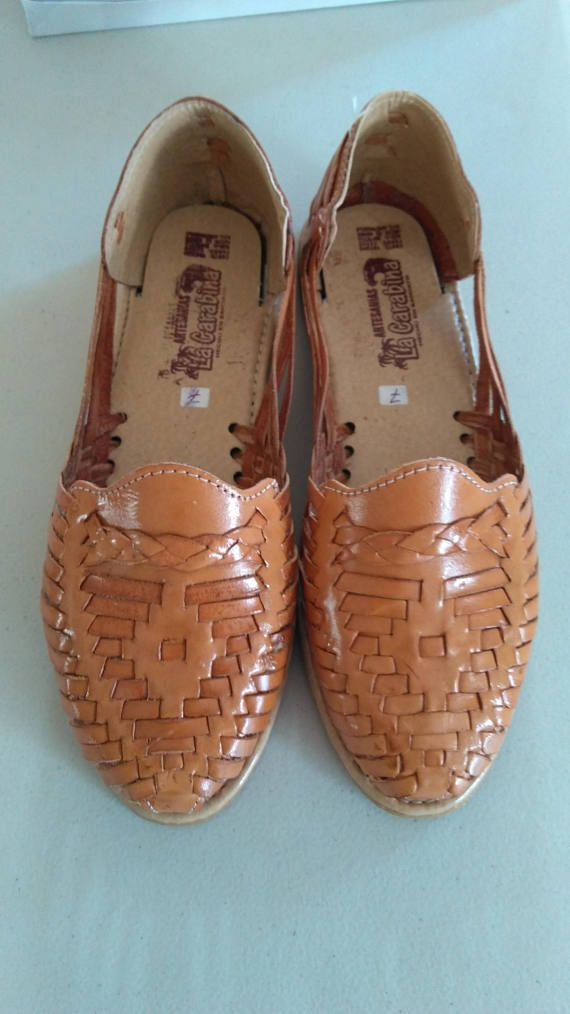 6b240cf47729 These are authentic leather Mexican huaraches. My name is Jorge