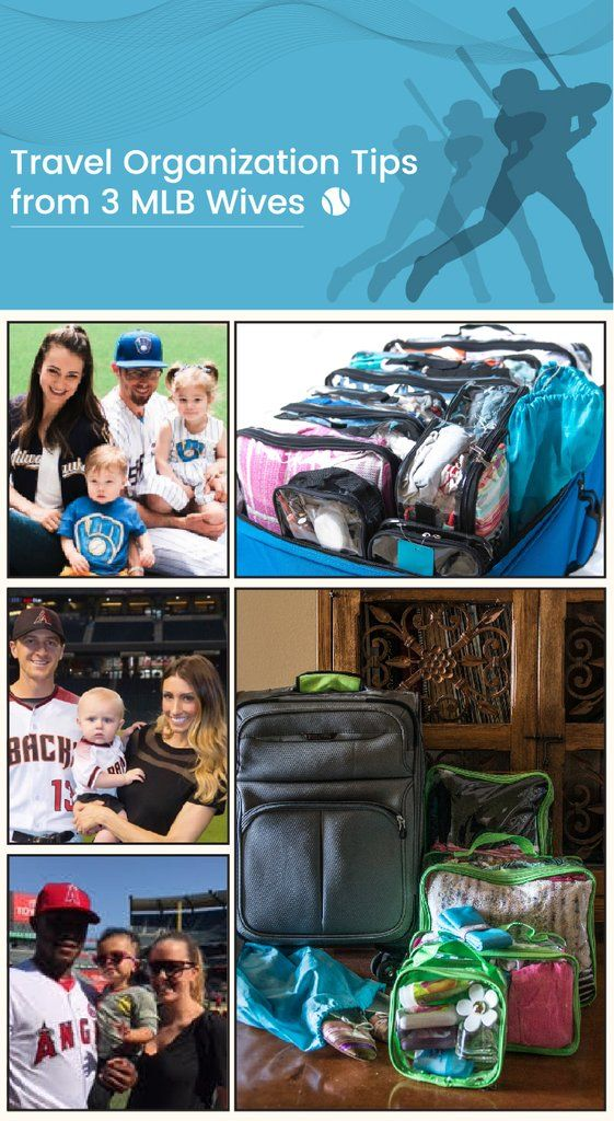 Travel Organization Tips from 3 MLB Baseball Wives – EzPacking, Inc