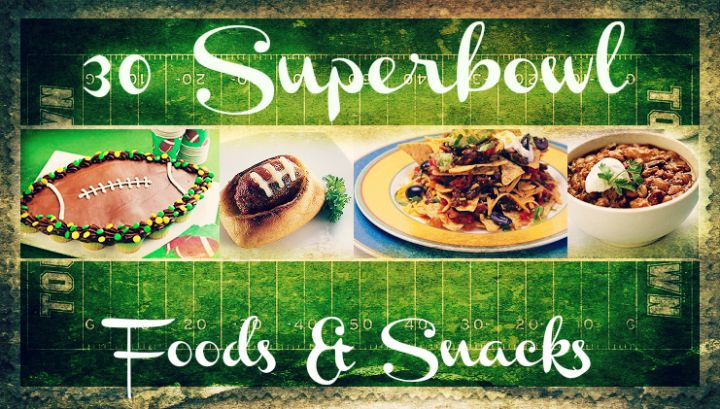 Superbowl Food & Snacks - With, of course, the Snackadium again :)