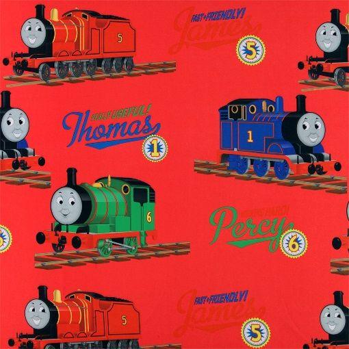 Mørklægning rød m Thomas tog