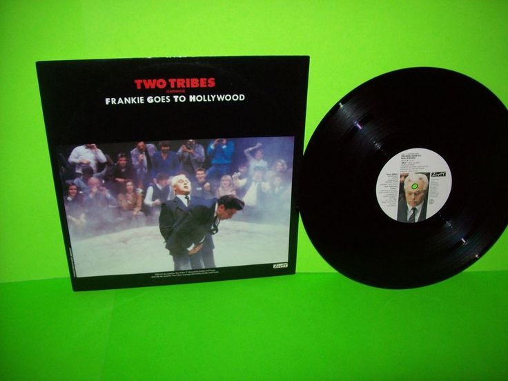 """Frankie Goes To Hollywood – Two Tribes Carnage Vinyl 12"""" EP Record UK Synth-Pop #SynthPopNewWave1980sPopRockAlternativeElectronicaEuroPop"""