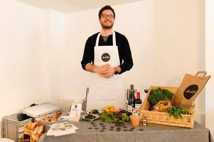 Avec Foodette, vous pouvez choisir votre menu en ligne et vous faire livrer des produits frais pour le préparer !