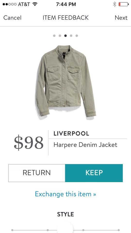 Stitch Fix Liverpool Harpere Denim Jacket