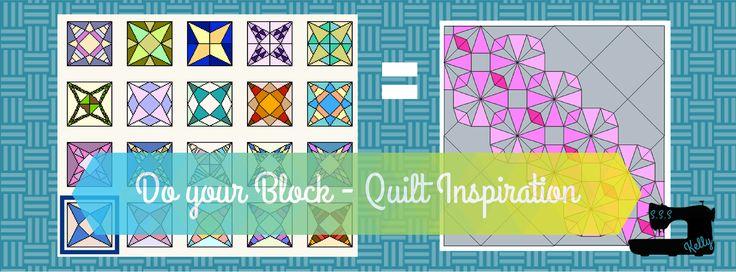 Do Your Block - Modern Quilt Inspiration. July - Pricilla block