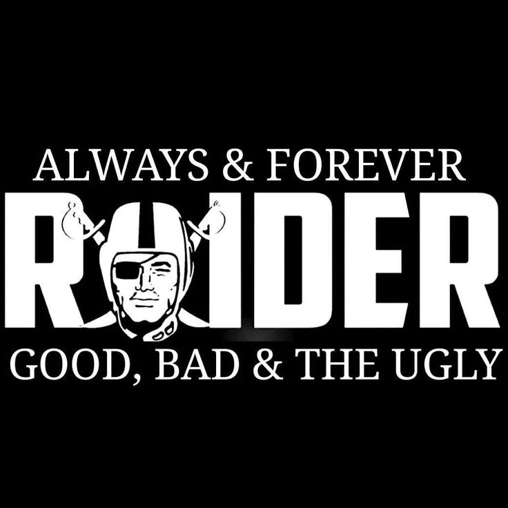 Raiders for life!