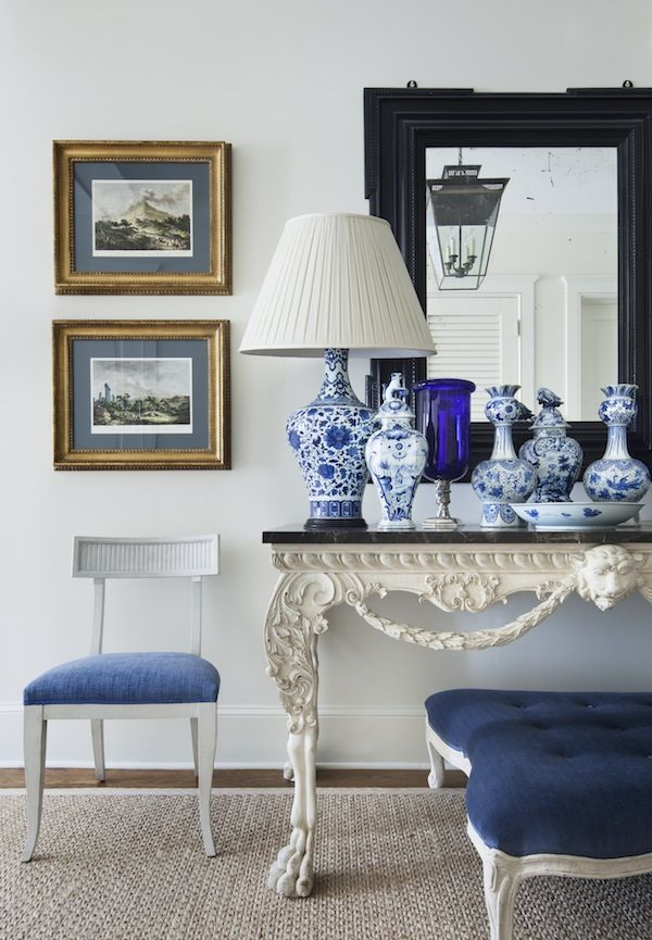 Blue And White Decor 358 best black, white and blue all over images on pinterest | blue
