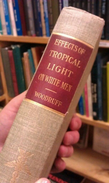Effects of Tropical Light on White Men... somebody had fun researching this...