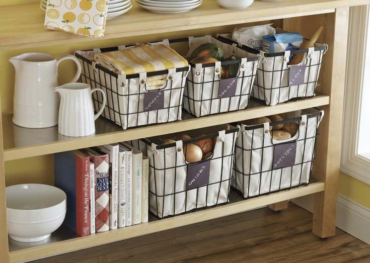 Better homes and gardens small wire basket with chalkboard black 1 piece home walmart and for Better homes and gardens storage bins