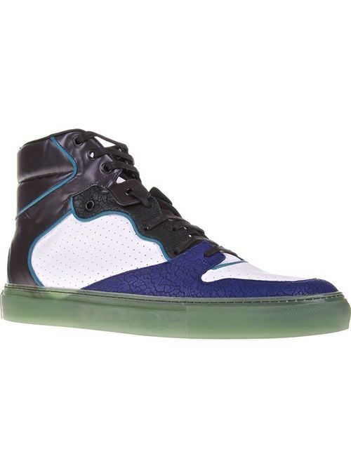 Men - Balenciaga 'Multi Reflex' High-Top Trainer - SMETS