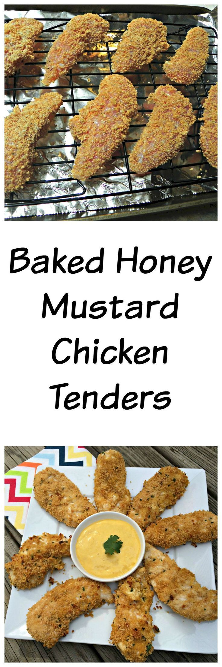 Baked Honey Mustard Chicken Tenders