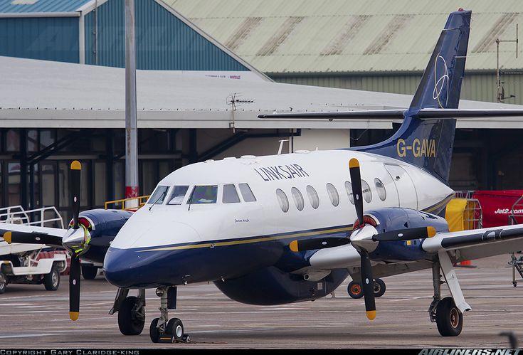 Links Air British Aerospace BAe-3112 Jetstream 31  Blackpool - Squires Gate (BLK / EGNH) UK - England, January 21, 2014