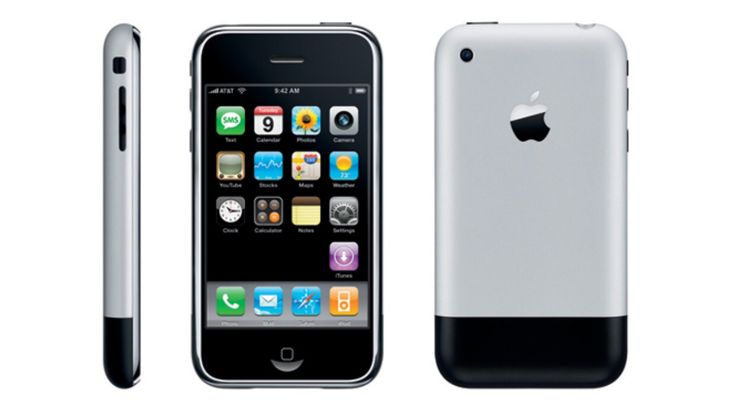 First ever iPhone 2g First released : June 29, 2007
