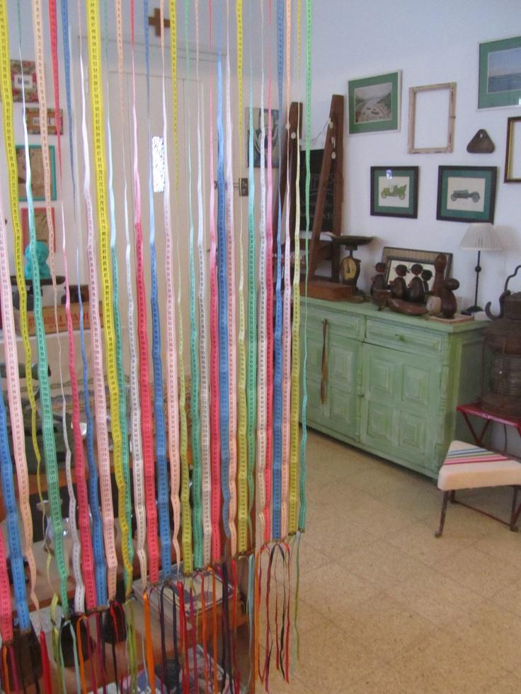 Cortina con centimetros super divertida se podr a hacer - Como hacer cortinas de tiras ...