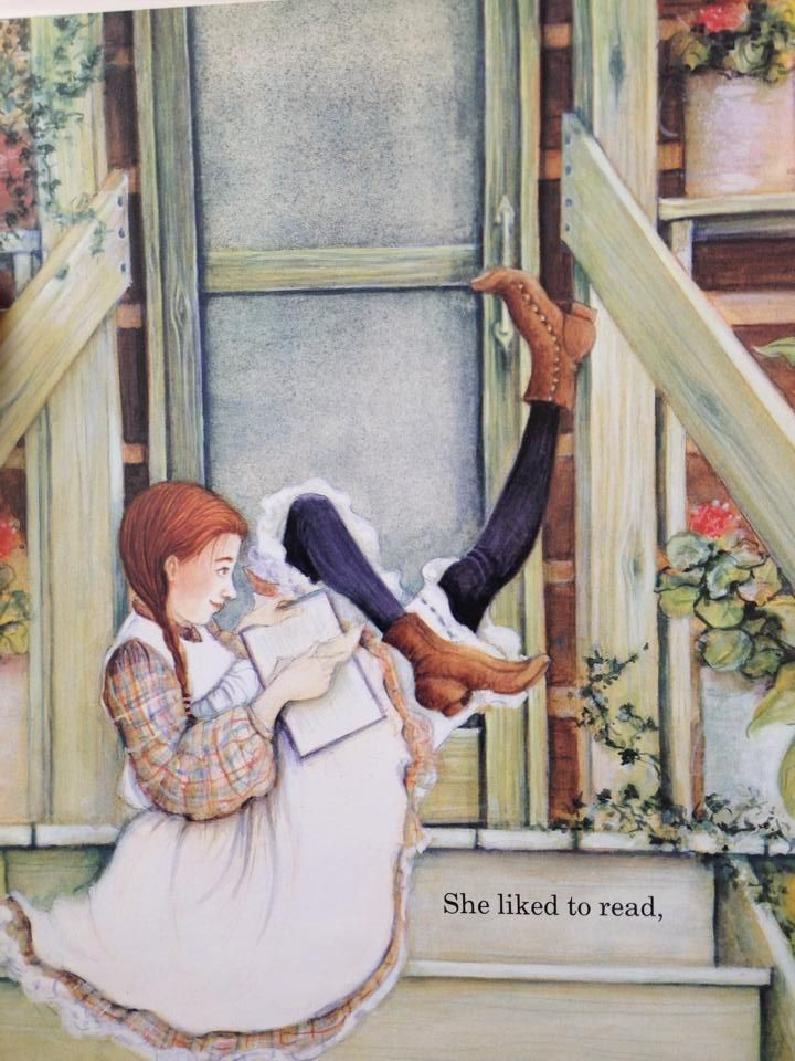She liked to read. Gloria Houston My Great Aunt Arizona Susan Lamb illustrator