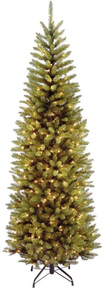 Pre Lit Fir Pencil Artificial Christmas Tree with Clear Lights Holiday Decor  #PreLit #FirPencil #ArtificialTree #ChristmasTree #Artificial #ChristmasTreeDecor #Decor #TreeDecor #ChristmasDecor #HolidayDecor #Decor #Holiday #ClearLights