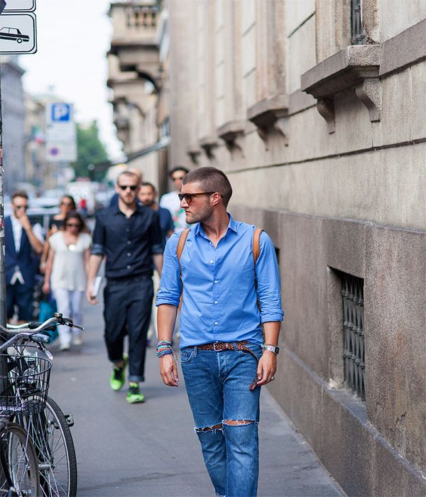 Men's summer fashion style