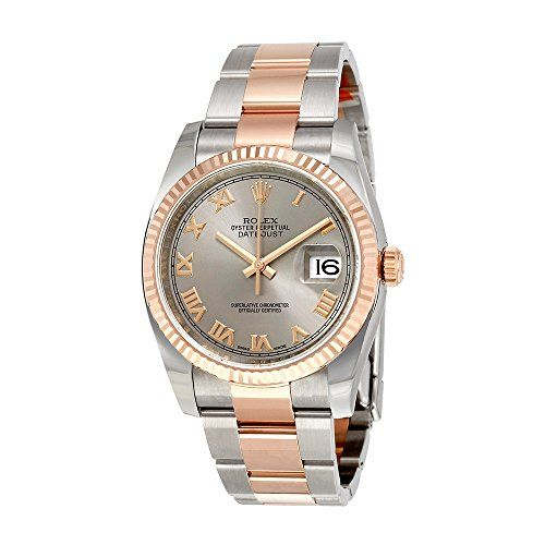 Rolex Oyster Perpetual Datejust Rhodium Dial Automatic Ladies Stainless Steel an...