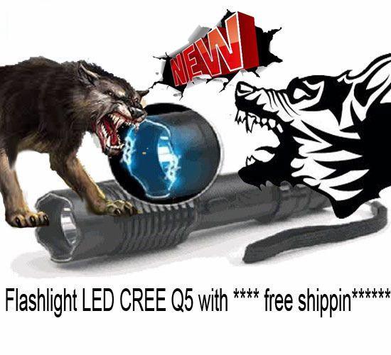 Tourch Police Self-defense Electric Shock LED Flashligh | eBay
