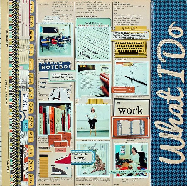 """""""What I Do"""" LO by Jill Sprott  - Oct. Afternoon (me album)"""