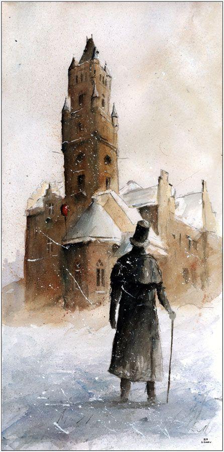 A winter in Nakło Śląśkie