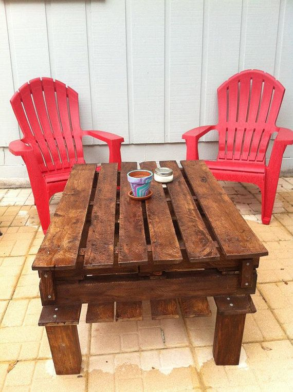 etsy pallet furniture. pallet furniture indooroutdoor table by etsy