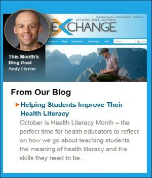 Andy Horne, 2015 Nat'l Health Education Teacher of the Year, shares tips on empowering students to improve their health literacy.