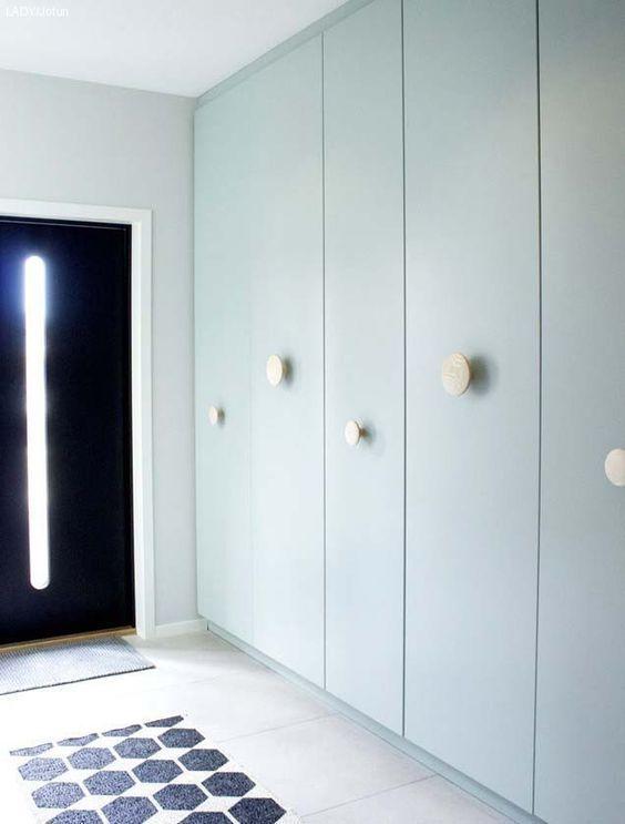 Ikea Mint Runden Kreativen In Farbton Einem Griffen Schränke Mit Pax n0wvmN8