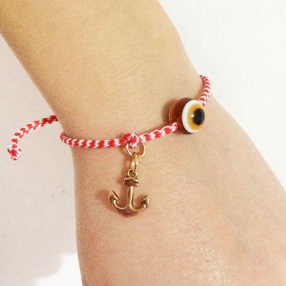 greek martis greek martakia bracelet anchor by christelboutique