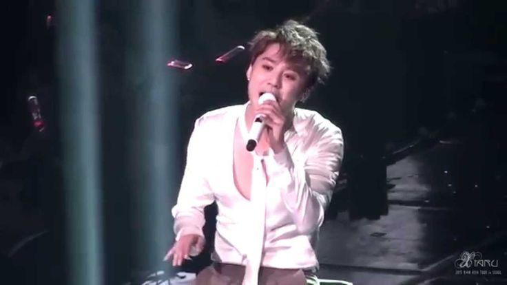 151108 XIA 4th ASIA TOUR CONCERT in SEOUL Back Seat (Jazz ver.) 준수 Junsu...