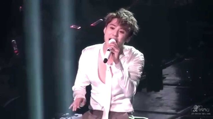 151108 XIA 4th ASIA TOUR CONCERT in SEOUL Back Seat (Jazz ver.) 준수 Junsu...