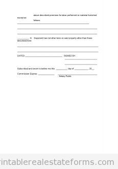 Free AFFIDAVIT OF OWnership Printable Real Estate Forms