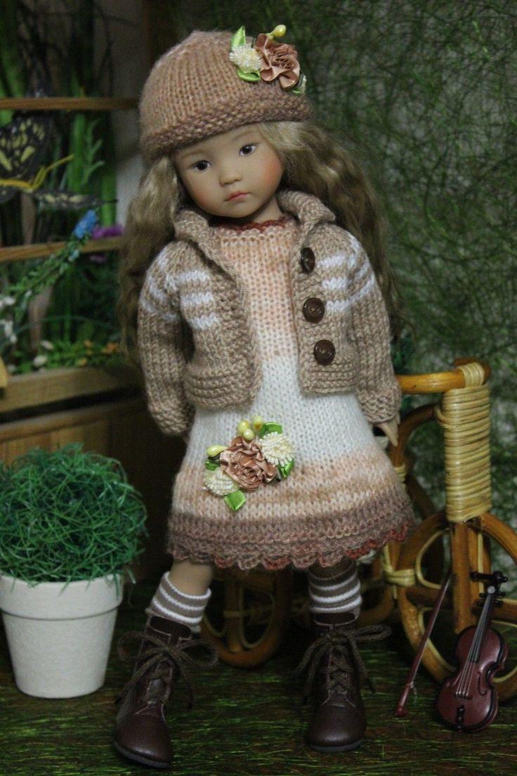 314 best Dolls Knit Fashion Little Darling images on Pinterest ...