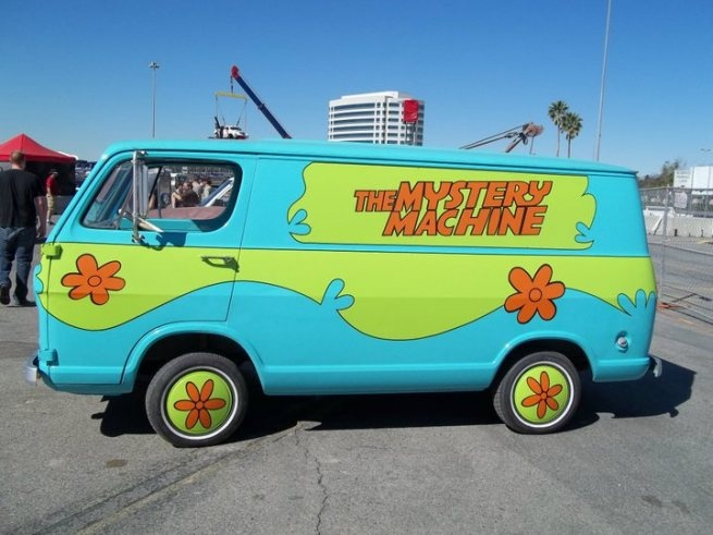 Scooby doo mystery machine movies tv cars voiture - Scooby doo voiture ...