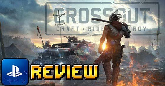 CrossOut PS4 review  A pretty good F2P vehicular combat MMO game