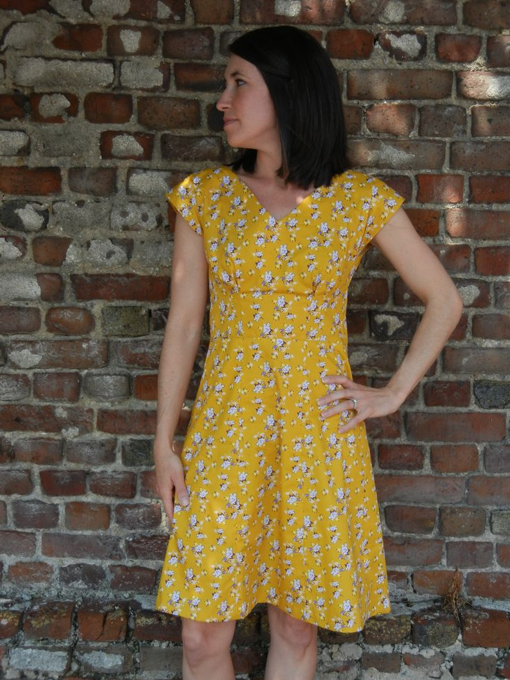 By hand london sabrina dress yellow